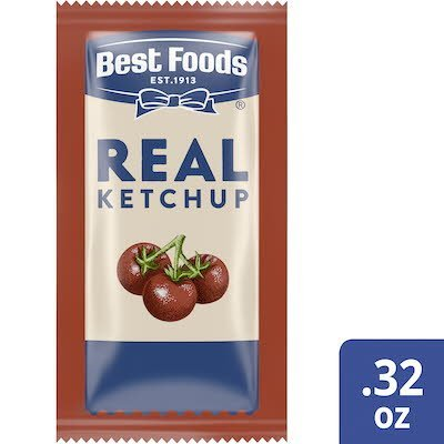 Best Foods® Real Ketchup 1000 x 0.32 oz -