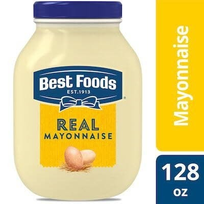 Best Foods® Real Mayonnaise 3 x 1 gal -