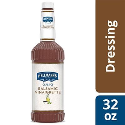 Hellmann's® Classics Balsamic Vinaigrette 6 x 32 oz - To your best salads with Hellmann's® Classics Balsamic Vinaigrette Dressing (6 x 32 oz) that looks, performs and tastes like you made it yourself.