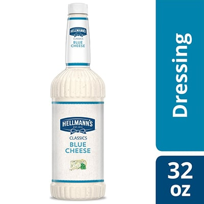 Hellmann's® Classics Blue Cheese Salad Dressing 6 x 32 oz - To your best salads with Hellmann's® Classics Blue Cheese Salad Dressing (6 x 32 oz) that looks, performs and tastes like you made it yourself.