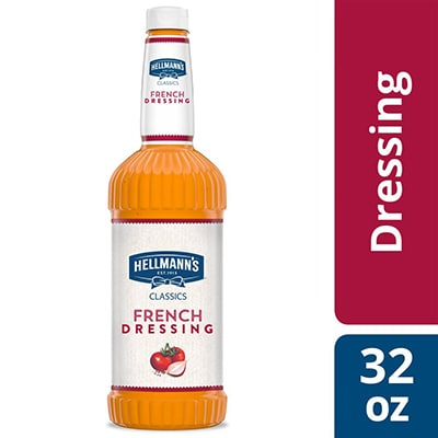 Hellmann's® Classics French Salad Dressing 6 x 32 oz - To your best salads with Hellmann's® Classics French Salad Dressing (6 x 32 oz) that looks, performs and tastes like you made it yourself.