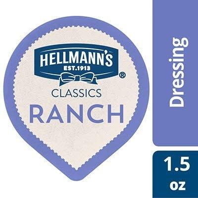 Hellmann's® Classics Ranch Dressing 108 x 1.5 oz -