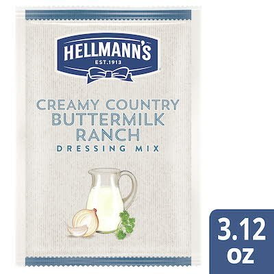 Hellmann's® Creamy Country Buttermilk Dressing Dry Mix 18 x 3.12 oz -