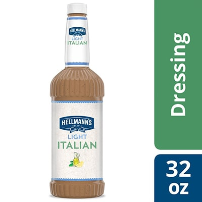 Hellmann's® Light Italian Salad Dressing 6 x 32 oz - To your best salads with Hellmann's® Light Italian Salad Dressing (6 x 32 oz) that looks, performs and tastes like you made it yourself.