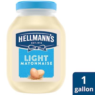 Hellmann's® Light Mayonnaise 4 x 1 gal - Hellmann's® Light Mayonnaise (4 x 1 gal) brings out the flavor of quality meat and produce.