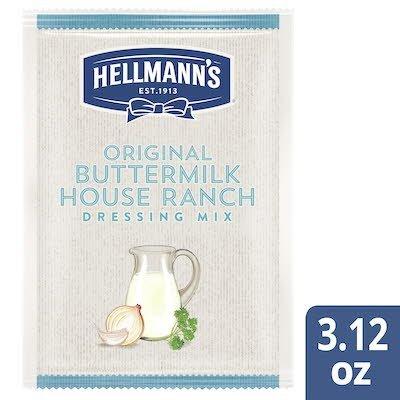 Hellmann's® Original Buttermilk House Dressing Dry Mix 12 x 3.12 oz -