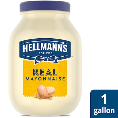 Hellmann's® Real Mayonnaise 4 x 1 gal - Hellmann's® Real Mayonnaise (4 x 1 gal) brings out the flavor of quality meat and produce.