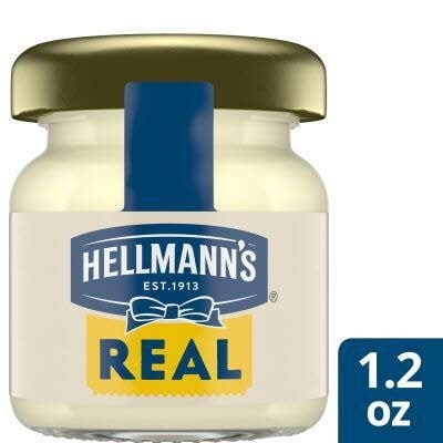 Hellmann's® Real Mayonnaise Mini Jar 72 x 1.2 oz -
