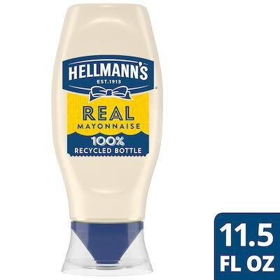 Hellmann's® Real Mayonnaise Squeeze Bottle 12 x 11.5 oz -
