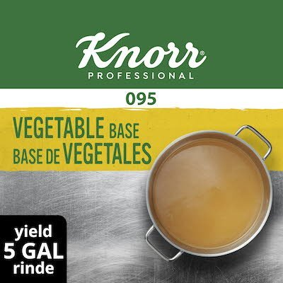 Knorr® Professional 095 Low Sodium Vegetable Base 12 x 1 lb -