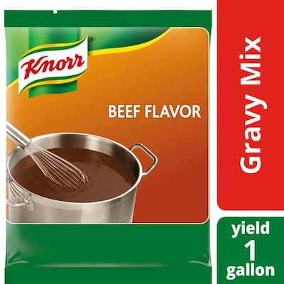 Knorr® Professional Beef Gravy 6 x 12.66 oz - Knorr® Beef Gravy delivers superior quality, balanced meat flavor, and performance you can rely on.