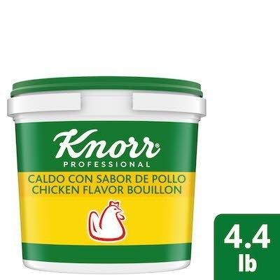 Knorr® Professional Caldo de Pollo/Chicken Bouillon 4 x 4.4 lb -