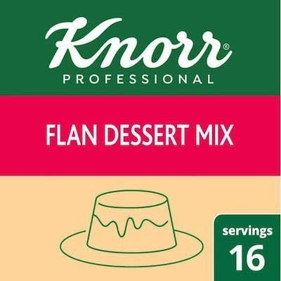 Knorr® Professional Creme Caramel Flan Mix, 8 Ounces, Pack of 6 -