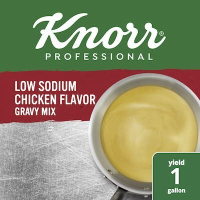 Knorr® Professional Low Sodium Chicken Gravy Mix 6 x 1 lb -
