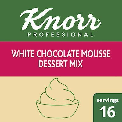 Knorr® Professional Milk White Chocolate Mousse Mix 10 x 7.3 oz -