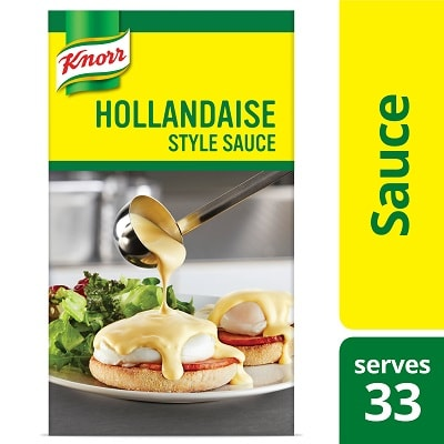 Knorr® Professional Sauce Hollandaise 6 x 34.32 oz - Breakfast service can be one of the toughest.