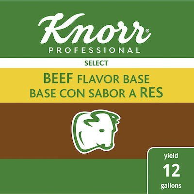 Knorr® Professional Select Beef Base Mix 6 x 1.99 lb -