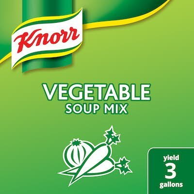 Knorr® Professional Soup Mix Vegetable 6 x 19.1 oz -