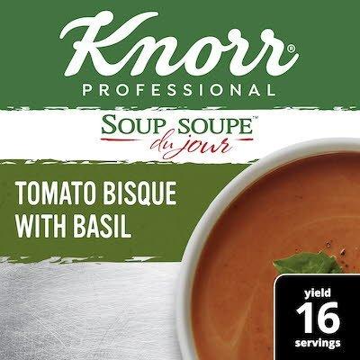 Knorr® Soup Du Jour Tomato Basil Bisque 4 x 16.9 oz -