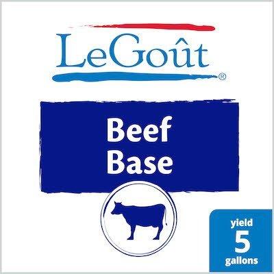 LeGout® Beef Bouillon Base 12 x 1 lb -