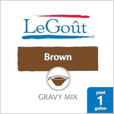 LeGout® Instant Brown Gravy Mix 8 x 13.29 oz -