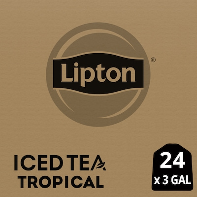 Lipton® Iced Tropical Flavored Black Tea 24 x 3 gal -