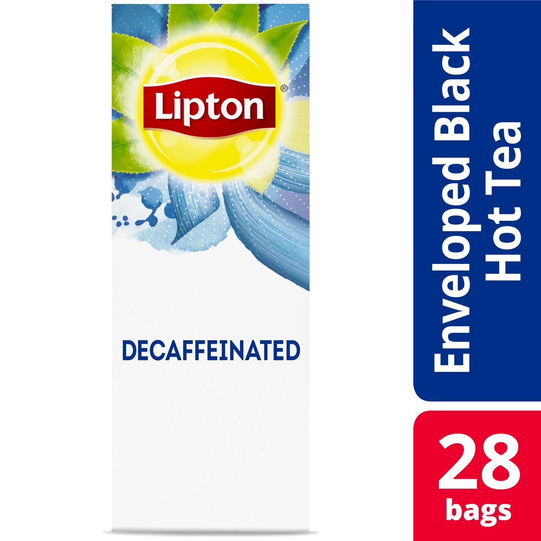 Lipton® Decaffeinated Black Tea 6 x 28 bags - Lipton varieties such as the Lipton® Decaffeinated Black Tea (6 x 28 bags) suit every mood.