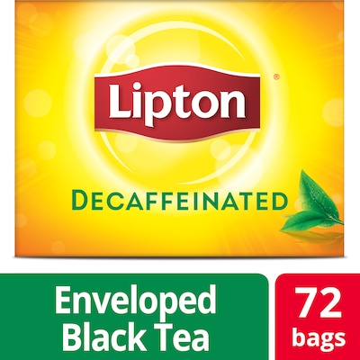 Lipton® Decaffeinated Black Tea 6 x 72 bags - Lipton varieties suit every mood