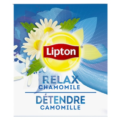 Lipton® Hot Tea Chamomile 6 x 28 bags - Lipton varieties such as the Lipton® Hot Tea Chamomile (6 x 28 bags) suit every mood.