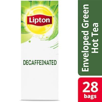 Lipton® Hot Tea Decaffeinated Green 6 x 28 bags - Lipton varieties such as the Lipton® Hot Tea Decaffeinated Green (6 x 28 bags) suit every mood.