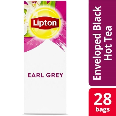 Lipton® Hot Tea Earl Grey 6 x 28 bags - Lipton varieties such as the Lipton® Hot Tea Earl Grey (6 x 28 bags) suit every mood.
