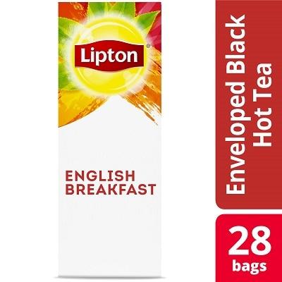 Lipton® Hot Tea English Breakfast 6 x 28 bags - Lipton varieties such as the Lipton® Hot Tea English Breakfast (6 x 28 bags) suit every mood.
