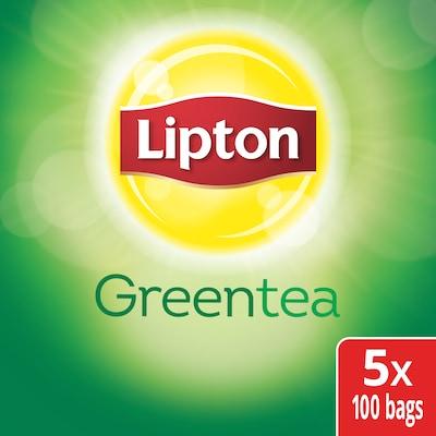 Lipton® Hot Tea Green 5 x 100 bags - Lipton varieties such as the Lipton® Hot Tea Green (5 x 100 bags) suit every mood.