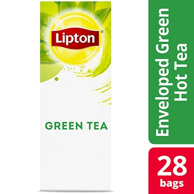 Lipton® Hot Tea Green 6 x 28 bags - Lipton varieties such as the Lipton® Hot Tea Green (6 x 28) bags suit every mood.