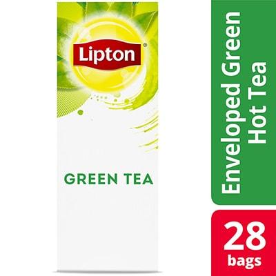 Lipton® Hot Tea Green 6 x 28 bags - Lipton varieties such as the Lipton® Hot Tea Green (6 x 28) bags suit every mood.