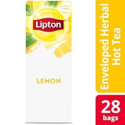 Lipton® Hot Tea Lemon 6 x 28 bags - Lipton varieties such as the Lipton® Hot Tea Lemon (6 x 28 bags) suit every mood.