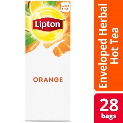 Lipton® Hot Tea Orange 6 x 28 bags - Lipton varieties such as the Lipton® Hot Tea Orange (6 x 28 bags) suit every mood.