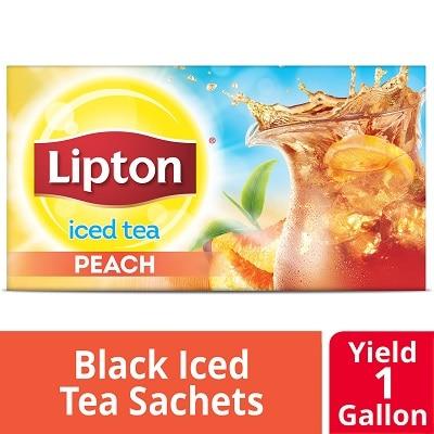 Lipton® Iced Tea Unsweetened Peach 48 x 1 gal -