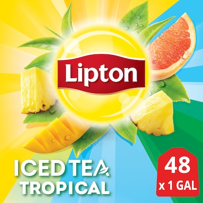 Lipton® Iced Tea Unsweetened Tropical 2 x 24 bags -