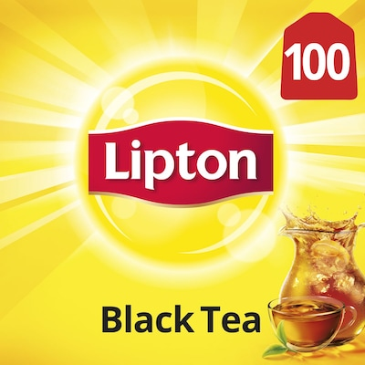 Lipton® Traditional Black Tea 10 x 100 bags - Lipton varieties such as the Lipton® Traditional Black Tea (10 x 100 bags) suit every mood.