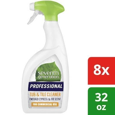 Seventh Generation® Professional Tub and Tile Cleaner 32 oz x 8 -