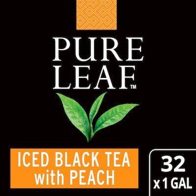 Pure Leaf® Iced Tea Black with Peach 32 x 1 gal -