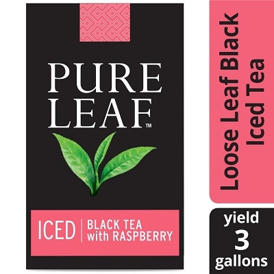 Pure Leaf® Loose Iced Tea Black with Raspberry 24 x 3 gal - Pure Leaf® Loose Iced Tea Black with Raspberry (24 x 3 gal) is made with the finest ingredients.