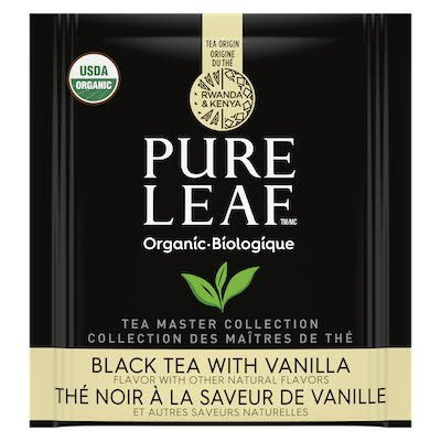 Pure Leaf® Organic Black with Vanilla Hot Tea 6 x 25 bags -
