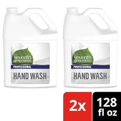 Seventh Generation® Professional Liquid Hand Wash Soap Refill 128 oz x 2 -