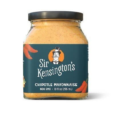 Sir Kensington's Chipotle Mayonnaise 6 x 10 oz - The Sir Kensington's chipotle mayonnaise manifesto? Source carefully, prepare artfully, and apply liberally.