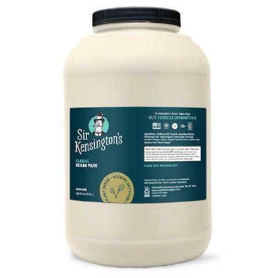 Sir Kensington's Classic Vegan Mayonnaise 4 x 1 gal -
