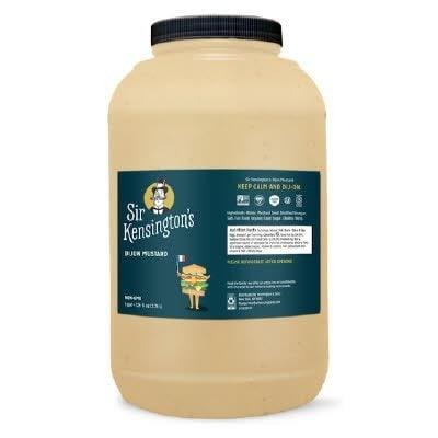 Sir Kensington's Dijon Mustard 4 x 1 gal - #1 Grade Mustard Seeds