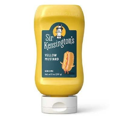 Sir Kensington's Yellow Mustard 6 x 9 oz -