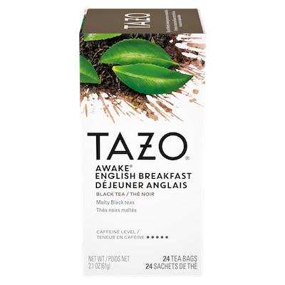 TAZO® Hot Tea Awake English Breakfast 6 x 24 bags - We've got our own thing brewingthe TAZO® Hot Tea Awake English Breakfast (6 x 24 bags): dare to be different